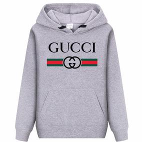 Blusa Moletom Gucci Blusa De Frio Gucci Òtima Qualidade 187a65d285b