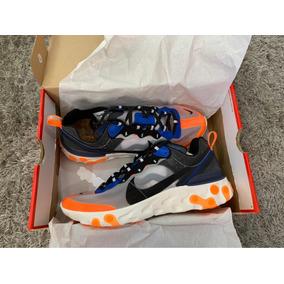 Sneakers Nike React Element 87 Wolf/grey Black Thunder Blue