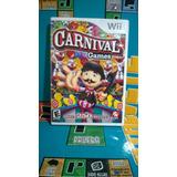 Juego Carnival Games Original Pa Consola Nintendo Wii Usado