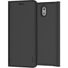Nokia 3.1 Flip Cover Black