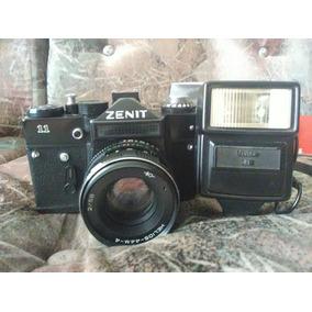 Camara Zenit 11 Y Camara Konica Autoreflex T
