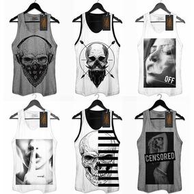 Camiseta Swag Caveira Com Bandana - Camisetas e Blusas Regatas no ... 48f6f6f97ef