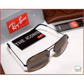 2155d0c0e8c43 Ray Ban Aviador 3026 Armação Prata E Lente Verde G15 - Óculos no ...