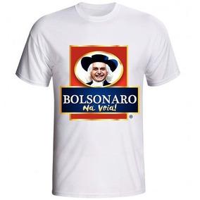 Camisa Personalizada Jair Bolsonaro Na Veia Presidente 2018