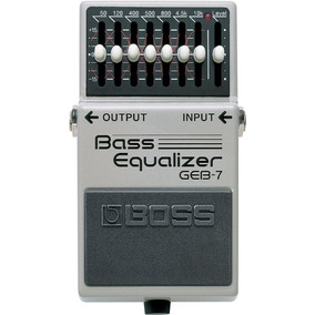 Pedal Baixo Boss Geb-7 Graphic Equalizer 7 Bandas Geb7 C/nf
