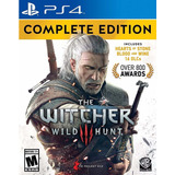 The Witcher 3 Wild Hunt Complete Edition Ps4 Disponible