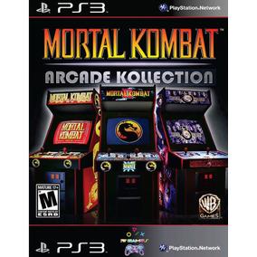 Mortal Kombat Arcade Kollection Ps3 Psn Envio Na Hora!