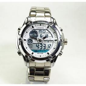 325c9fa7ec6 Relógio Exclussivo Top Barato Masculino Analógico E Digital.
