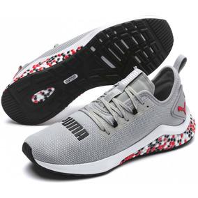 8630341234b Tenis Puma Hybrid Nx Gris Run Correr Originales Nuevos Meses