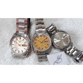 Relógios Seiko Masculinos, Automáticos, Coleção !