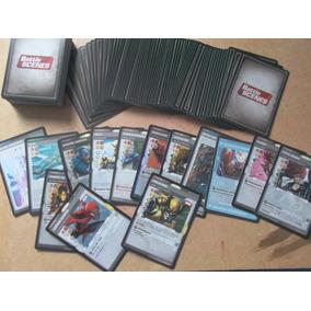 Marvel Battle Scenes - Lote 100 Cartas Aleatórias 1 Foil