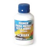 3x Primer Selante Metal Pet Vidro Acrilex 100ml *frete+bara