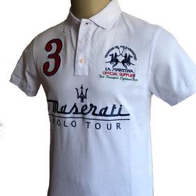 1ea4762284 Camisa Polo Masculina La Martina Maserati Carros Importada