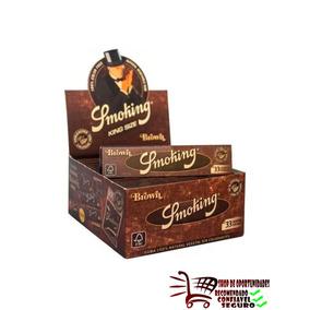 Seda Smoking Marrom (brown) King Size C/ 50 Livretos Revenda