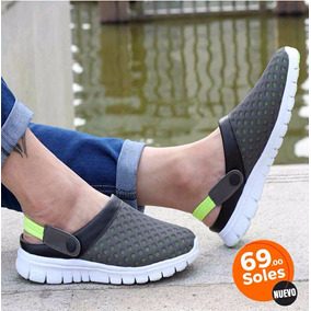 Crocs Slip-on Con Malla Antitranspirable