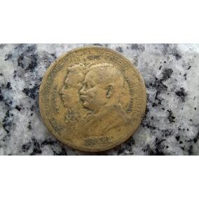 Moeda Centen Indepen Brasil 1000 Réis 1822 1922 Frete Grátis