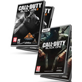 Call Of Duty Black Ops 2 Pc + Black Ops 1 Completos + Regalo