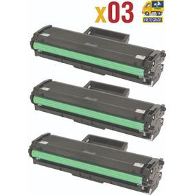 Kit Tres Toner Compatível 111 D111 D111s M2020w Sem Juros