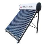 Termotanque Solar Hissuma Solar 360 Litros + Kit Electrico