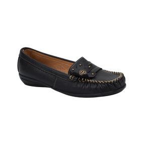 Zapato Cómodo Casual De Piel Shosh Mod. 1200