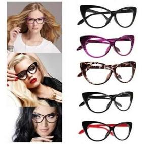 0fbd2d295a396 Oculos Falso Sem Grau Gatinho - Óculos no Mercado Livre Brasil