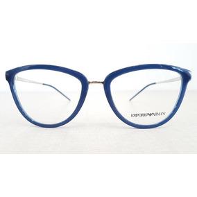 18a545d4d7d79 Armação Óculos De Grau Feminino Emporio Armani Oculos - Óculos no ...