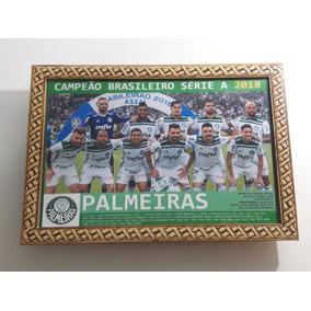 Quadro 20x30 Cm - Palmeiras - Campeão Brasileiro 2018
