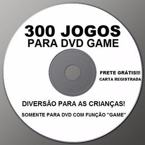 Cd 300 Jogos Para Dvd Com Função Game! - Frete Grátis (leia)