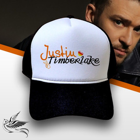 4e83d02d3b8fb Boné Trucker Tela Estilo Justin Timberlake E Ashton Kutcher ...