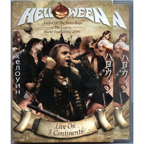 Dvd Helloween Live On 3 Continents Duplo Frete Gratis
