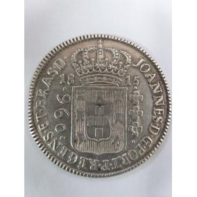 Moeda Prata 960 Reis 1815 México