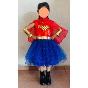 Disfraz Tutu De La Mujer Maravilla En Mercado Libre Mexico