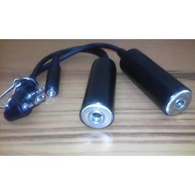 Cable Adaptador Para Auriculares 2 Pines-3 Jack De Radios Po