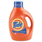 2 Botellas De Detergente Liquido Tide De 100 Oz Original