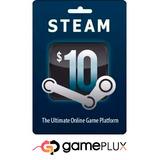 Tarjeta De Recarga Para Steam $10 $20 $30 $50 - Juegos De Pc
