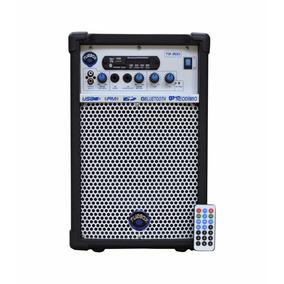 Caixa Multiuso Turbox Tb-300 8 Pol Ampli Pro 4 Ohms 50w Rms