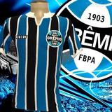 86eef56abf Grêmio Camisa Tricolor Retro 1981 no Mercado Livre Brasil