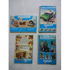 Playmobil - Lote De 4 Propagandas Originais - 1977/78