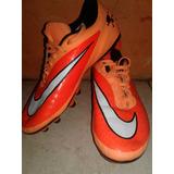 Tacos/zapatos/guayos De Futbol Nike Hypervenom Talla 38.5