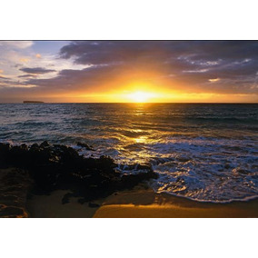 Painel Fotográfico Praia Makena Impoortado Komar 1-607