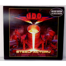 Udo - Steelfactory (deluxe Edition) (slipcase C/ Pôster)