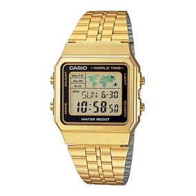 f4e315bad2e Relogio Casio A500wga 1 Masculino - Relógios De Pulso no Mercado ...