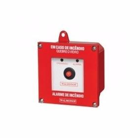 Acionador De Alarme Convencional Ip 55 Para Áreas Externas
