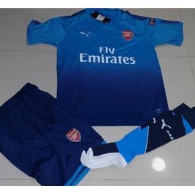 Uniformes De Futbol Economicos Completos Arsenal Azul Psg d94fbb1d2