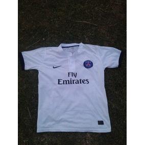 Camiseta Paris Saint Germain Blanca - Camisetas en Mercado Libre ... 9e4a731be0081