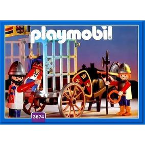 Playmobil 3674 Transporte De Prisioneiros - Prisão Carroça