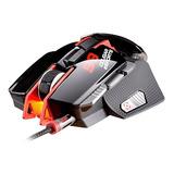 Mouse Gamer Cougar 8200dpi 8 Botões Preto E Vermelho 700m