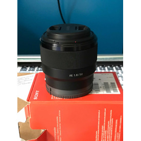 Lente Sony Fe 50mm F/1.8 (sel50f18f)