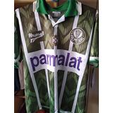Camisa Oficial Rhumell Palmeiras 1995/1996 Relíquia Tam M