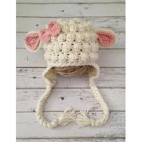 Gorro Oveja Crochet Bebés, Niños Y Adultos